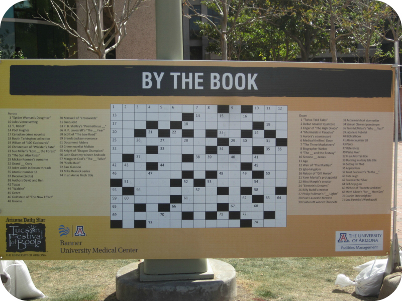 Another puzzle at Tucson Festival of Books