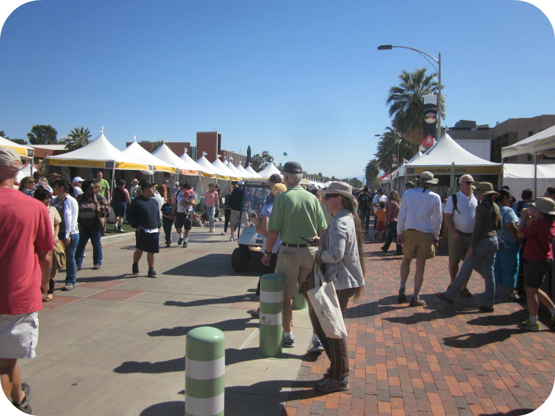 Crowds at Tucson Festival of Books
