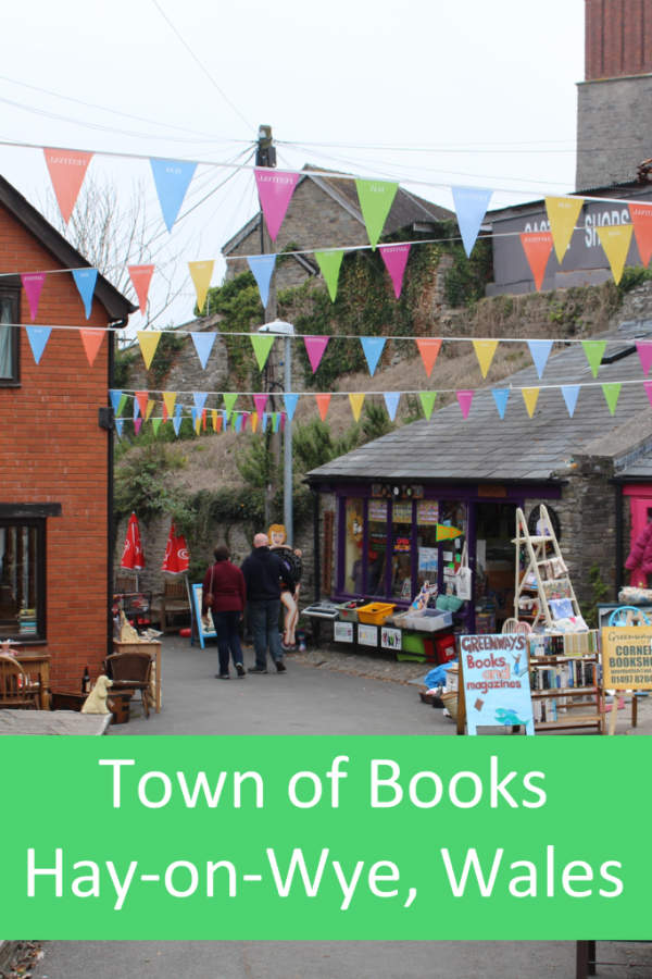 Hay-on-Wye in south Wales is known as the Town of #Books #Wales