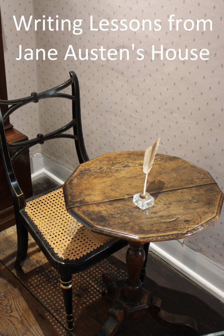 Jan Austen's writing table