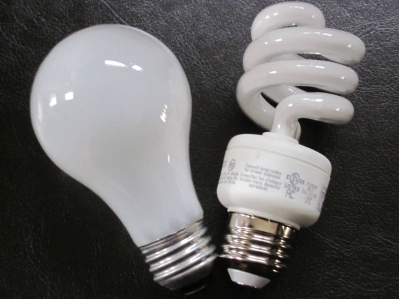 Light bulbs - about creativity and inspiration