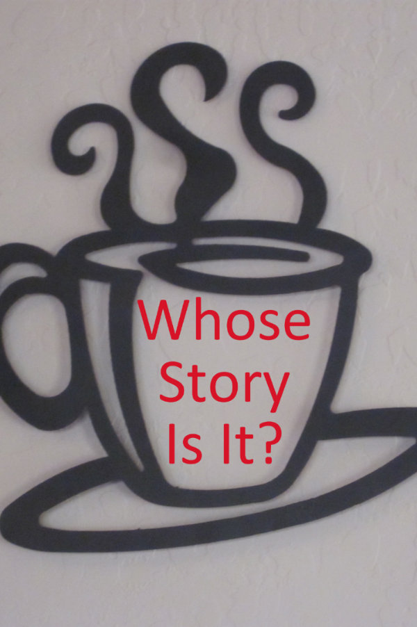 Whose story is it? Is it stealing when a writer uses an incident from someone else's life? #amwriting #story