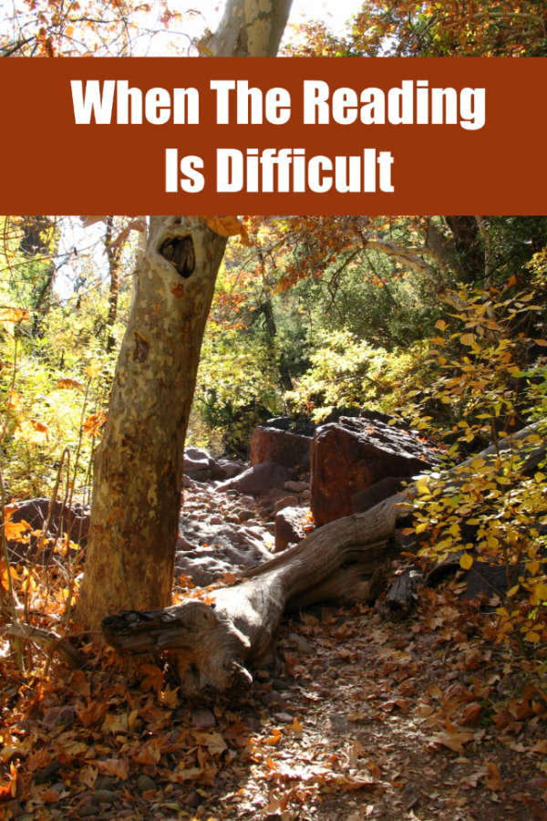 Sometimes our reading takes us on difficult paths. #amreading #books