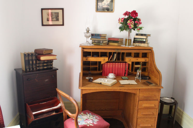 Writer and suffragette Nellie McClung's office