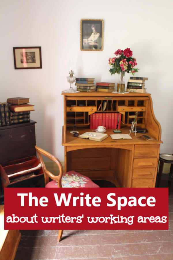 The Write Space. What kind of work space does a writer or other artist need? #amwriting