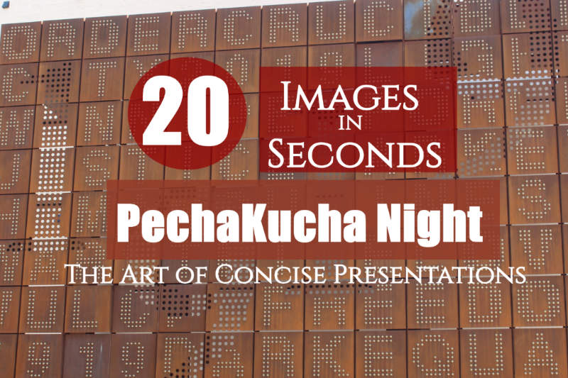 PechaKucha Night - 20x20 Experience