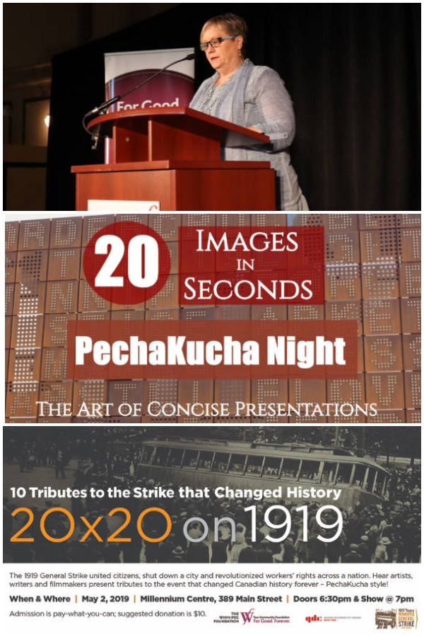 PechaKucha Night: A 20x20 Experience - my first PechaKucha Night presentation with PechaKucha Night Winnipeg #PechaKucha ##Winnipeg #presentation