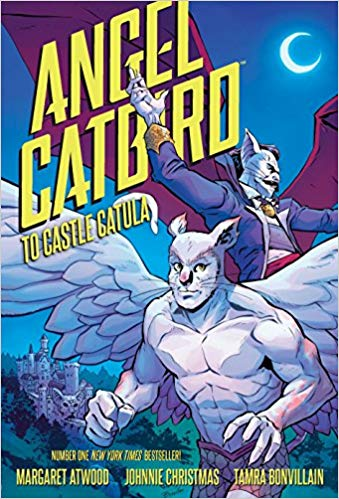 Cover of the graphic novel Angel Catbird to Castle Catula by Margaret Atwood and Johnnie Christmas