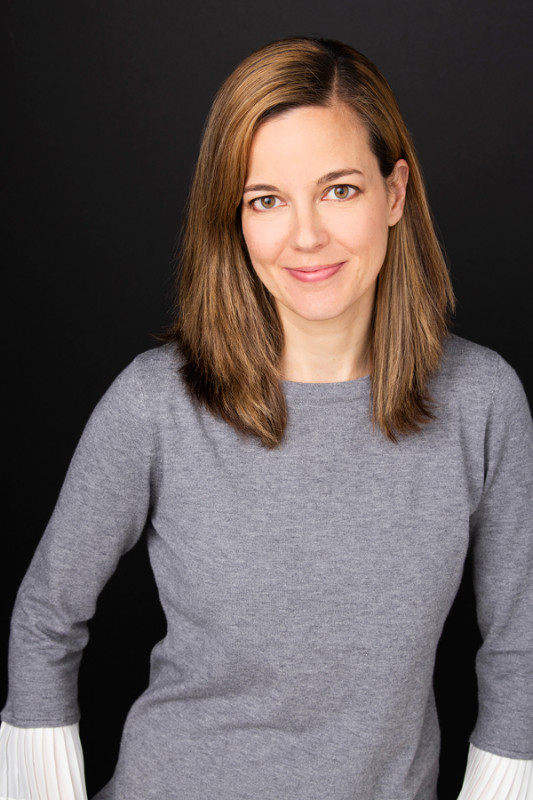 Photograph of Canadian author Alix Ohlin