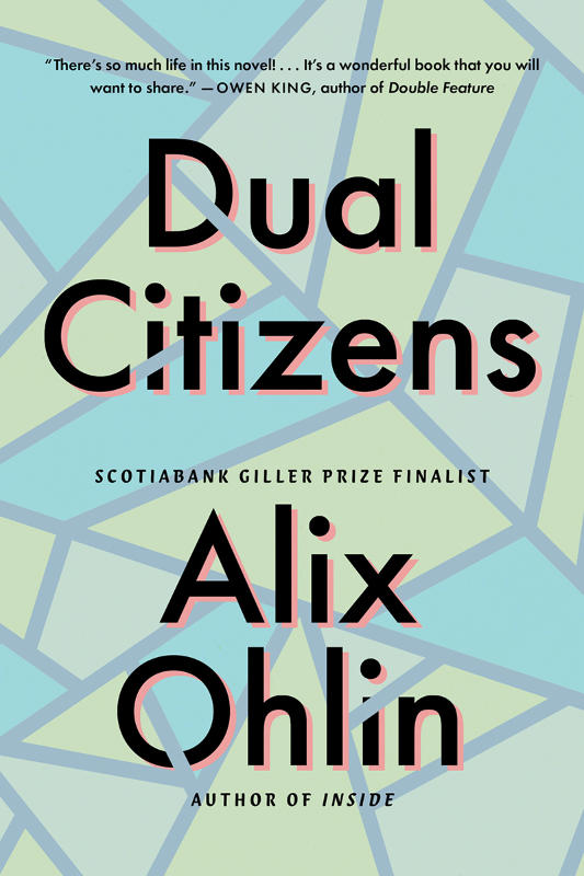 Cover of the book Dual Citizens by Alix Ohlin