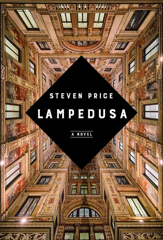 Cover of the book Lampedusa by Steven Price