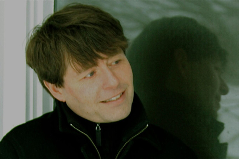 Photograph of Canadian author Michael Crummey