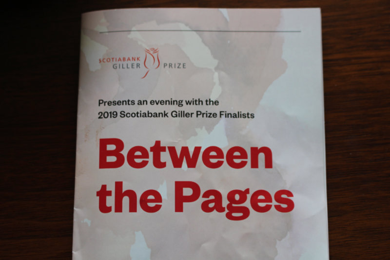 Cover of the 2019 Between The Pages program